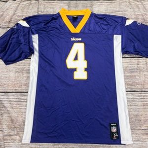 Minnesota Vikings Brett Favre Reebok Jersey Sz XL